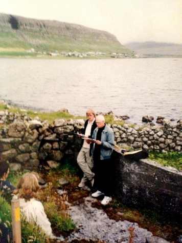 Ron Padgett og Oddfríður Marni Rasmussen lesa upp í Kálvmannarætt